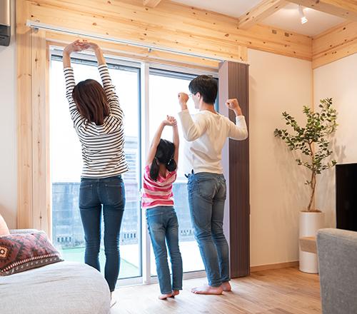名古屋で注文住宅・木造住宅の家づくりならまほろばの家